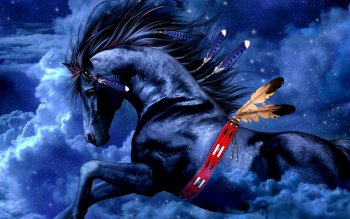 Fantasy - Horse Wallpapers and Backgrounds ID : 123856