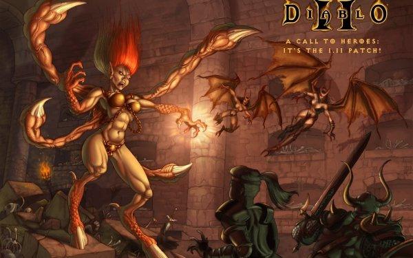 Video Game Diablo II Diablo HD Wallpaper | Background Image