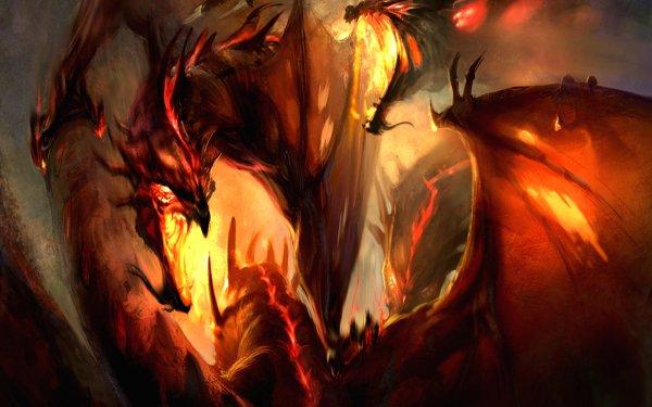 Fantasy Drachen HD Wallpaper | Hintergrund