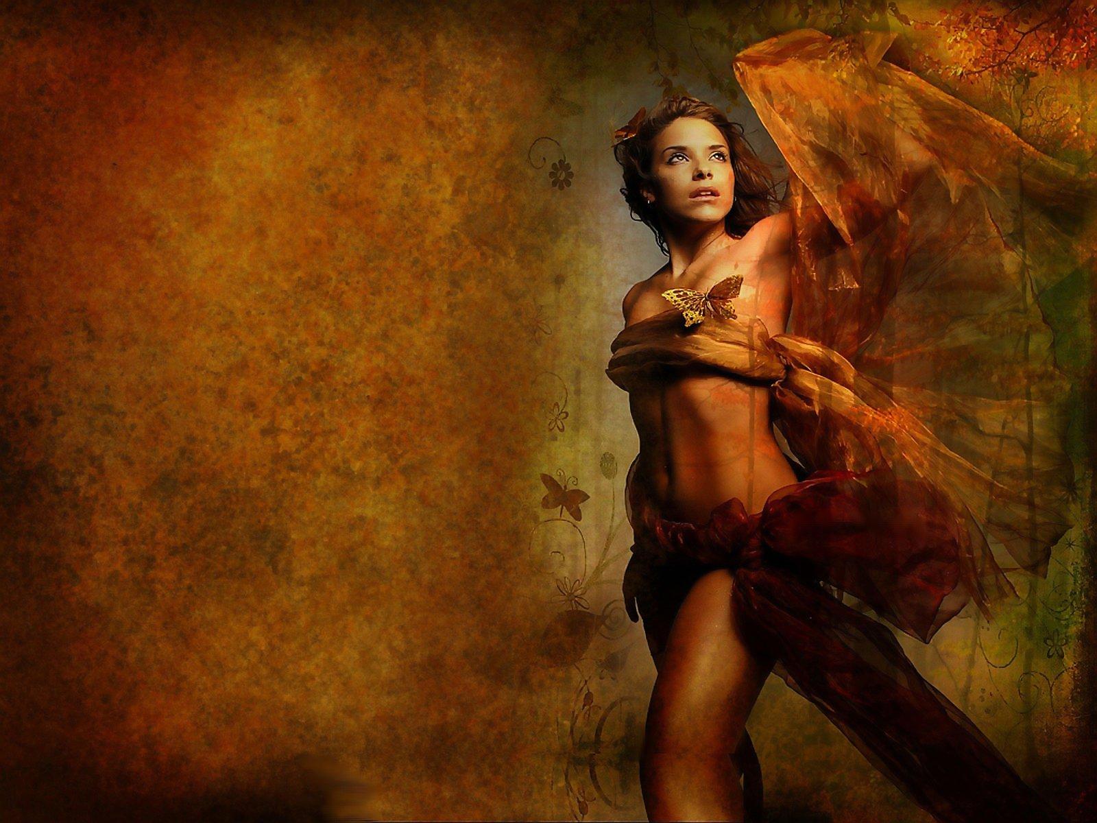 Artistique - Femmes  Fond d'écran
