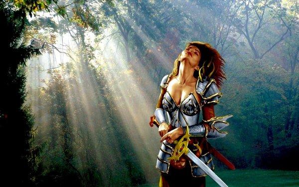 Fantasy Women Neverwinter Nights HD Wallpaper   Background Image