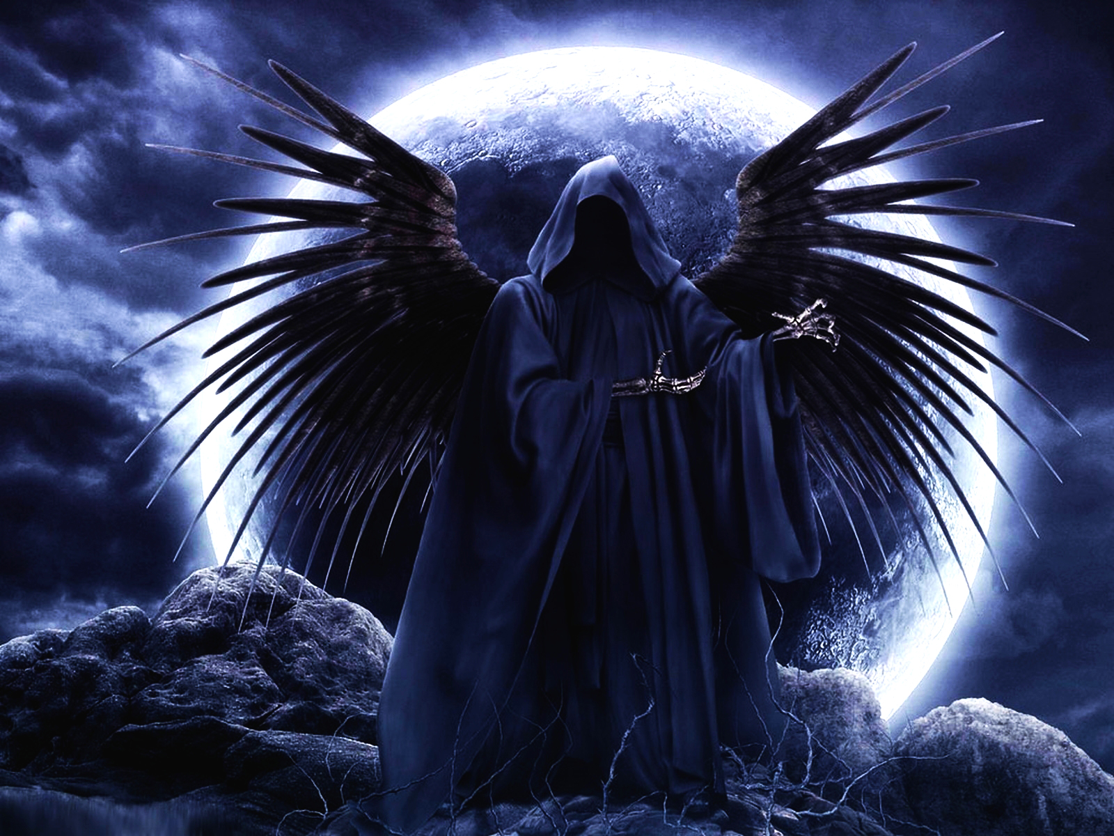 Dark - Grim Reaper  - Grim - Reaper - Death - Dark - Death Angel Wallpaper
