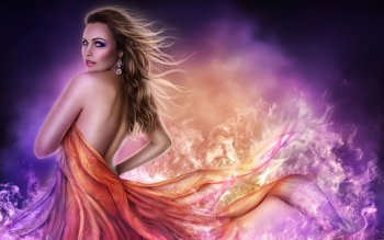 Fantasy - Frauen Wallpapers and Backgrounds ID : 125476