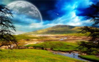 Science-Fiction - Landschaft Wallpapers and Backgrounds ID : 125478