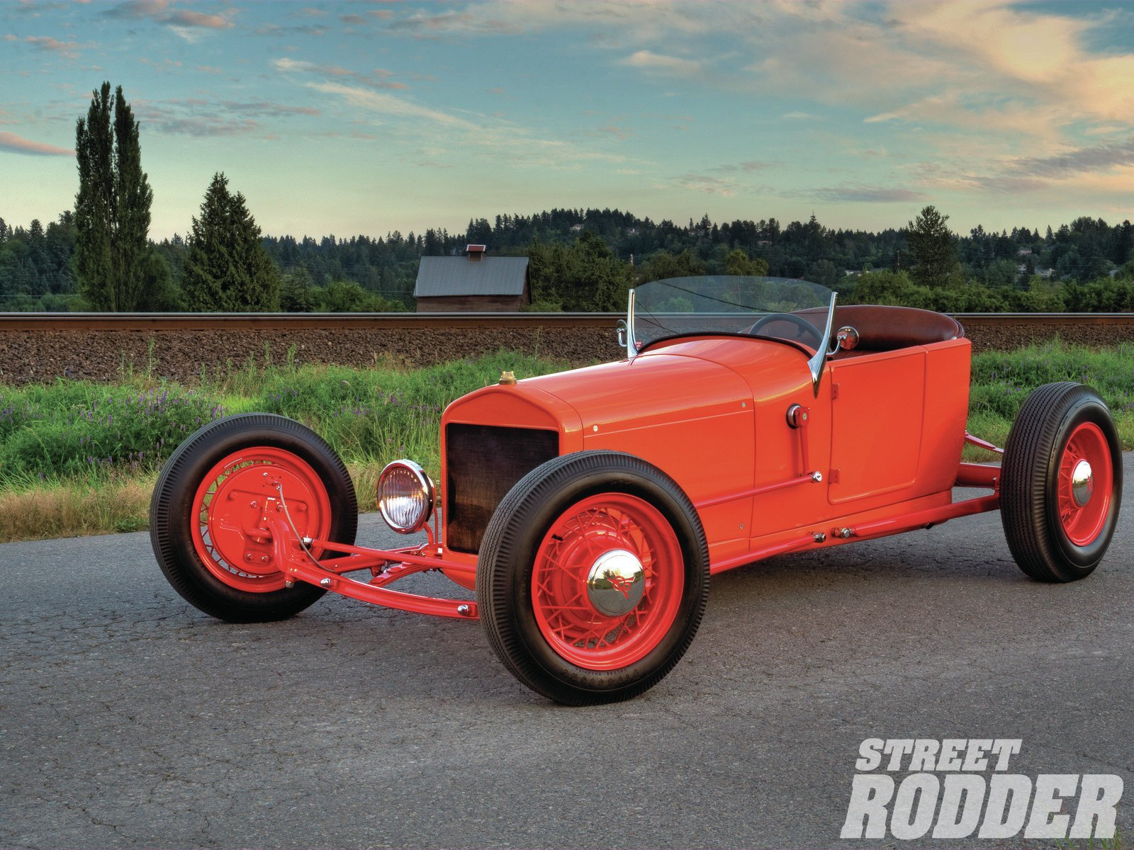 Vehicles - 1929 Ford Highboy Roadster  Wallpaper