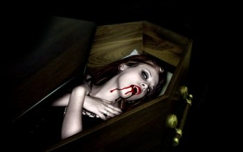 Dark - Vampire Wallpapers and Backgrounds ID : 126546