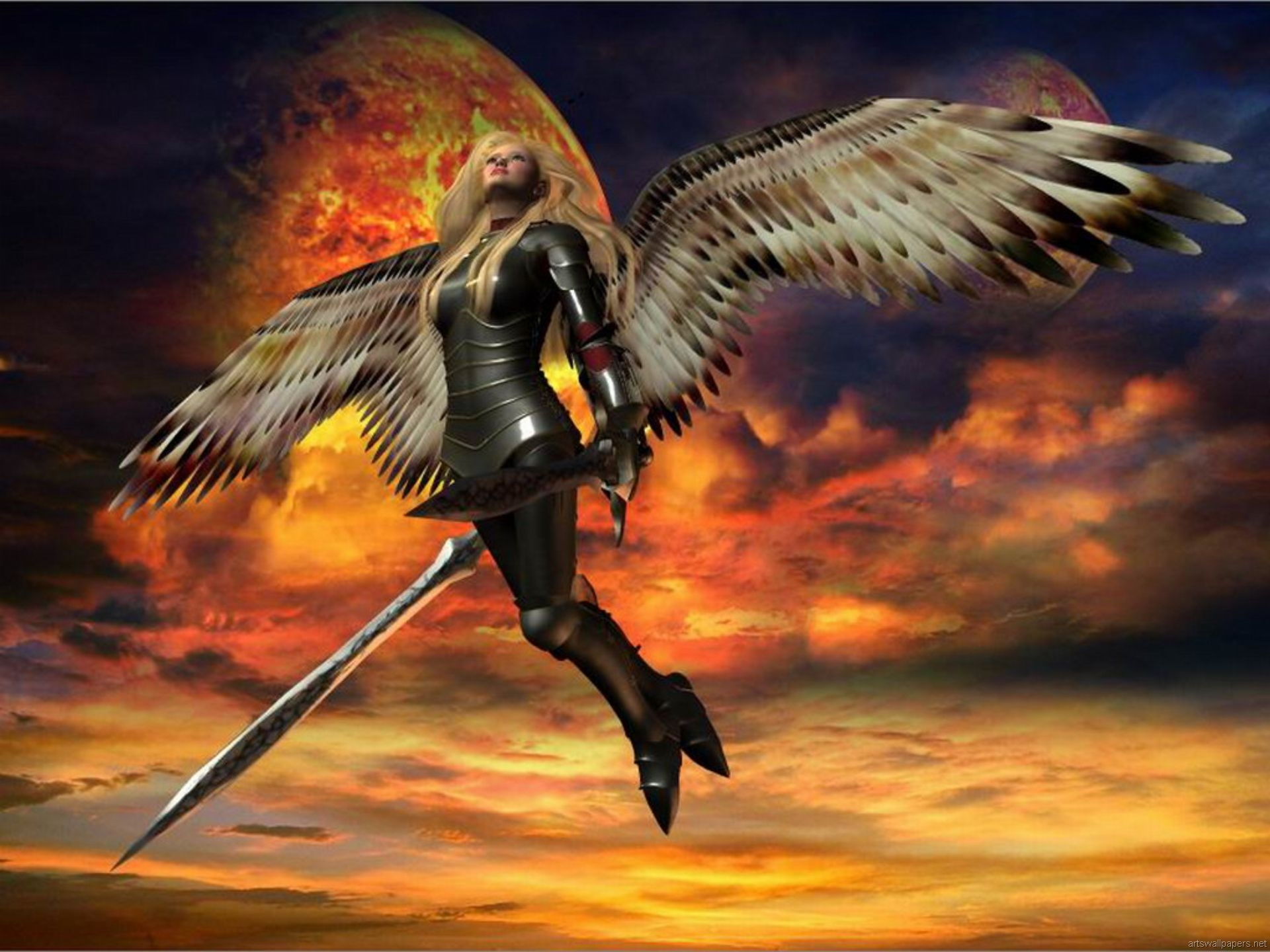 other wallpaper angel warrior - photo #28