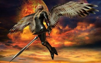 Fantasy - Angel Warrior Wallpapers and Backgrounds ID : 129828