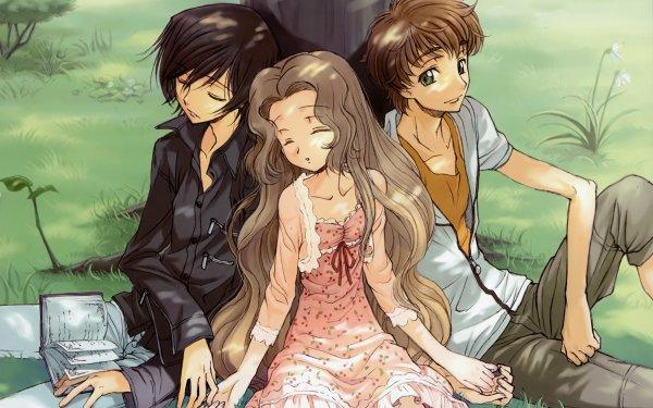 Anime Code Geass Nunnally Lamperouge Lelouch Lamperouge Suzaku Kururugi HD Wallpaper | Background Image