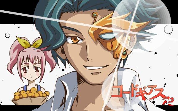 Anime Code Geass Jeremiah Gottwald Anya Alstreim HD Wallpaper   Background Image