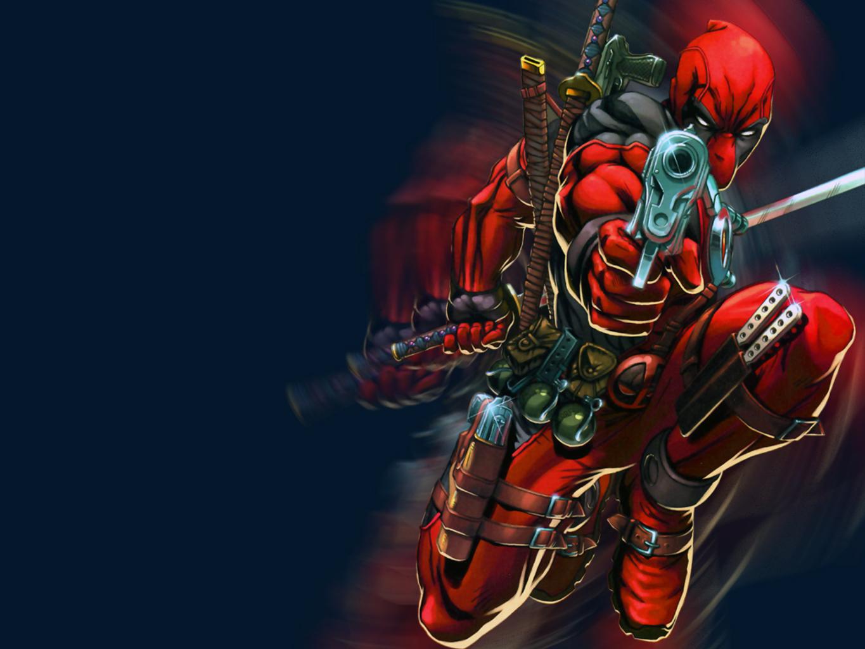 Комиксы - Deadpool  Азиатки Merc With A Mouth Обои