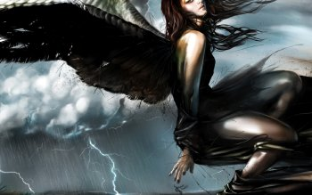 Oscuro - Angel Wallpapers and Backgrounds ID : 132006