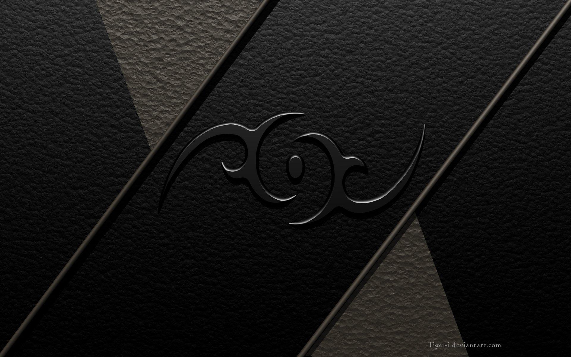 Hd Tribal Wallpapers: Tribal Design Wallpaper-black Full HD Wallpaper And