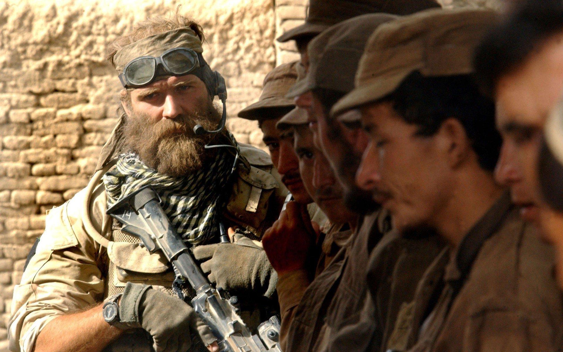 Военные - United States Army  Военные Beard Обои