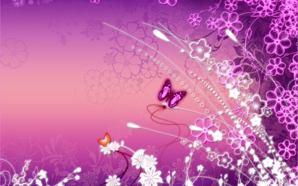 Artistic Flower Flowers Buttercup Pink HD Wallpaper | Background Image