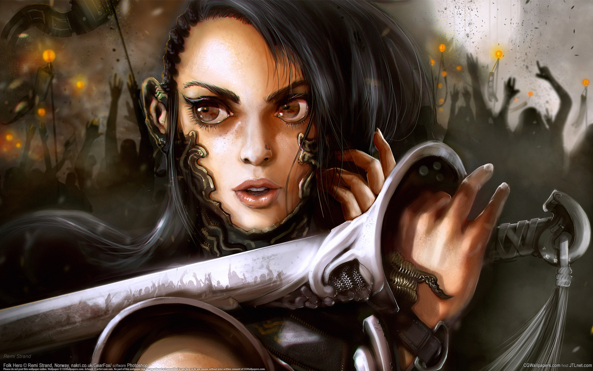 download wallpaper female warrior - photo #15