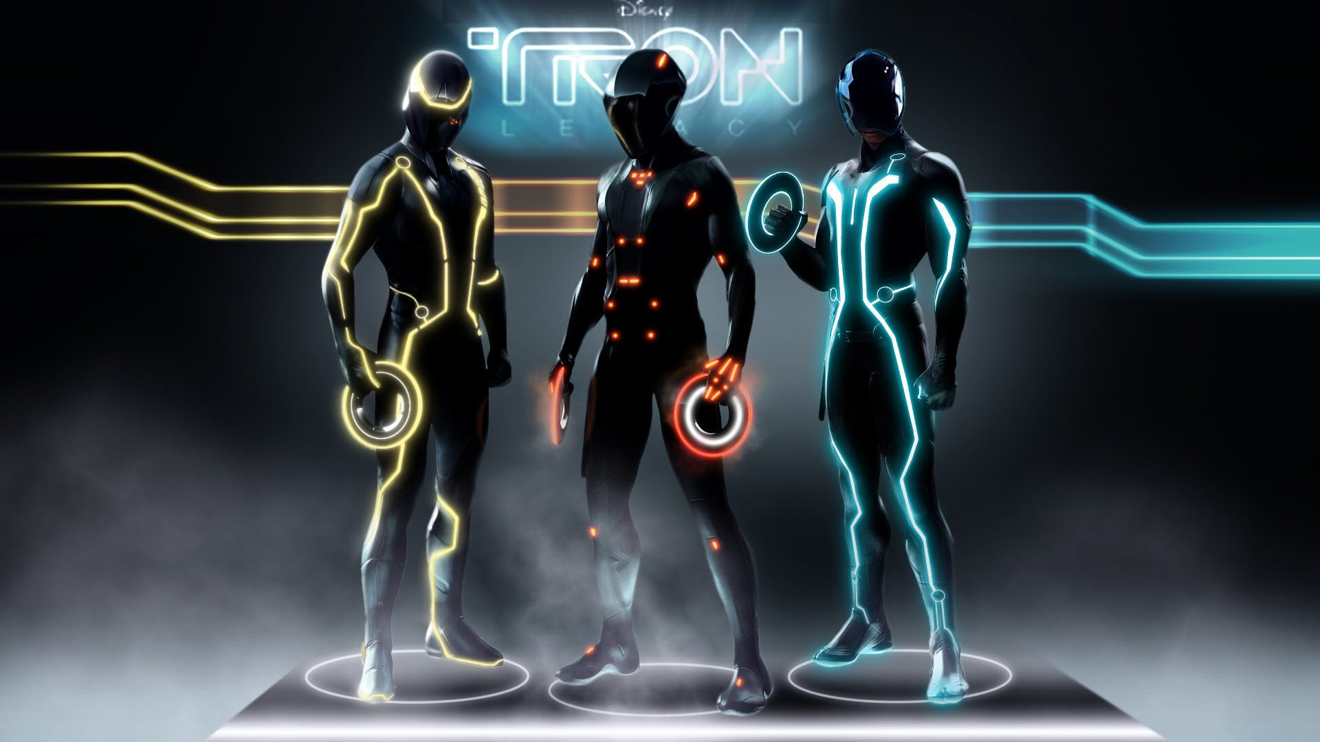 239 TRON Legacy HD Wallpapers