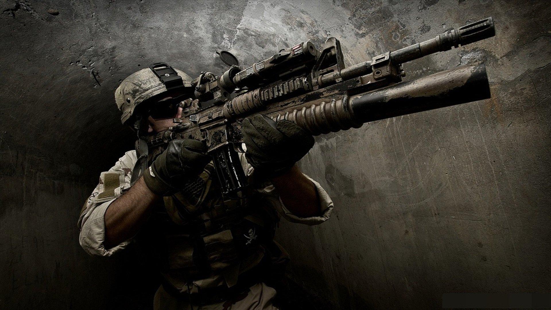 Assault Rifle HD Wallpaper