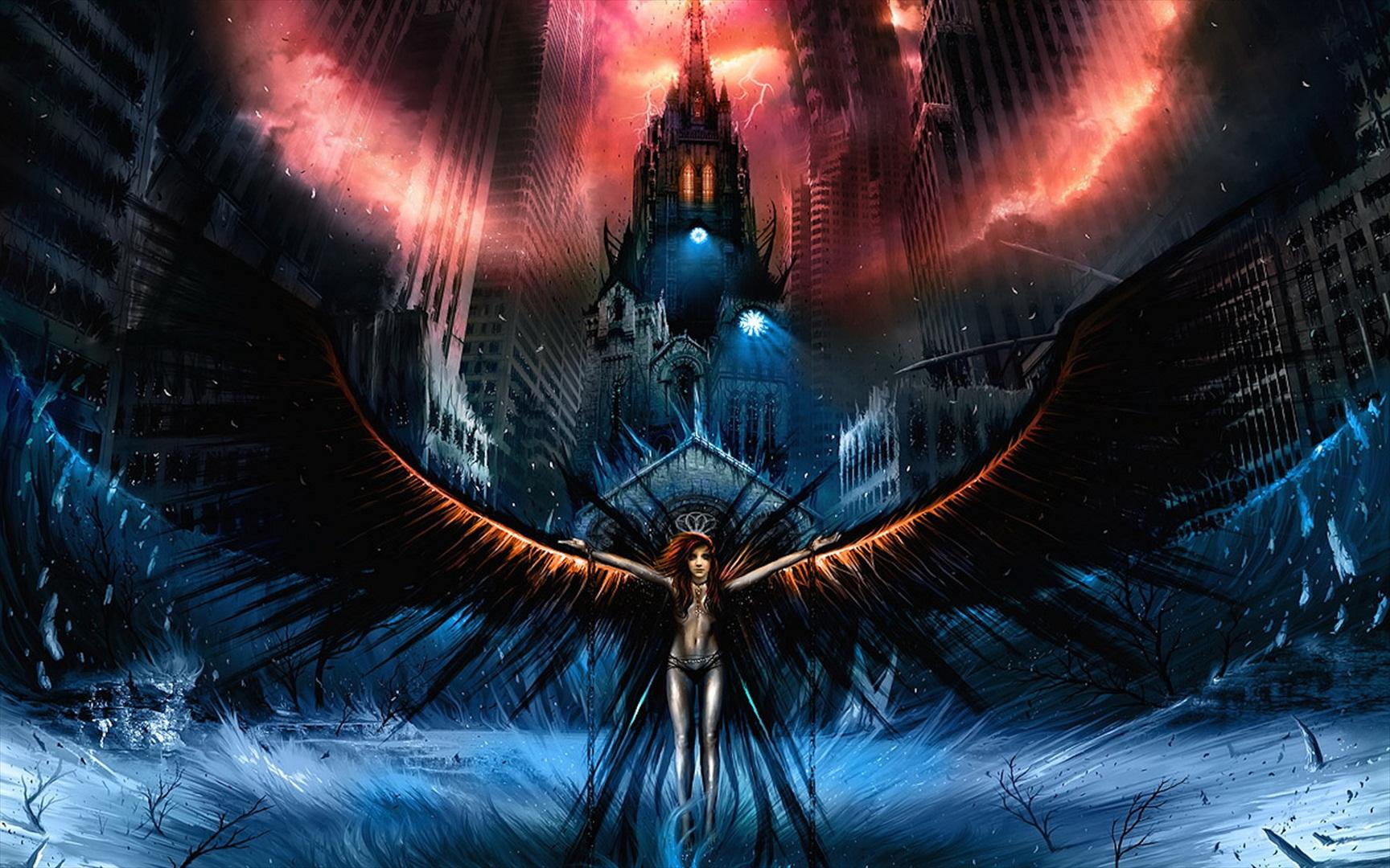 Dark - Angel Wallpaper