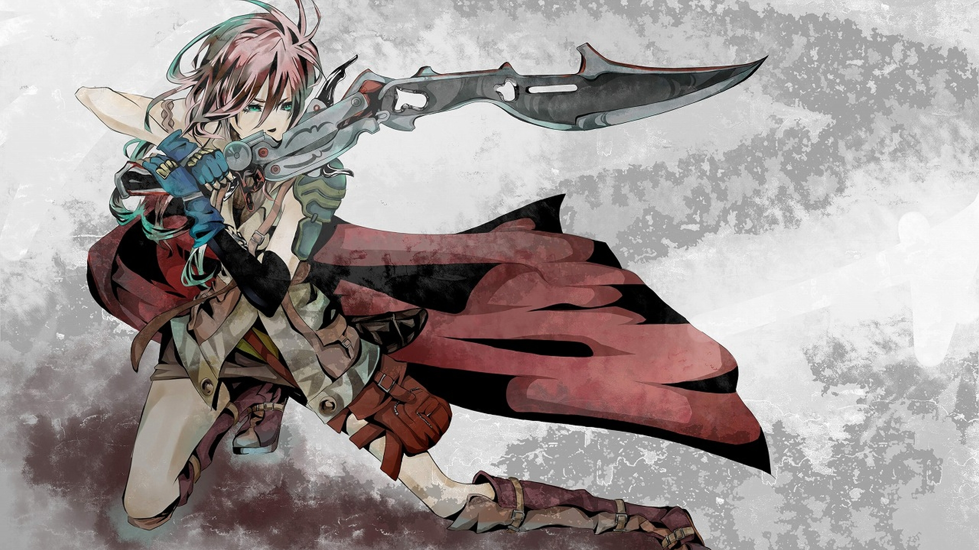 Anime - Unknown  - Final Fantasy Xiii - Lightning Wallpaper