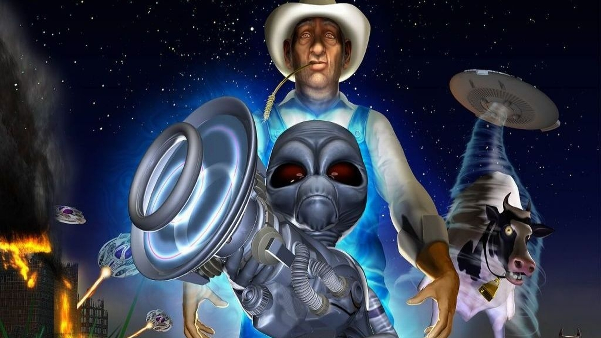 5 Destroy All Humans! HD Wallpapers | Backgrounds ...