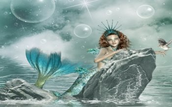 Fantasy - Mermaid Wallpapers and Backgrounds ID : 143536