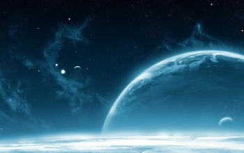 Science-Fiction - Planetenaufgang Wallpapers and Backgrounds ID : 14416