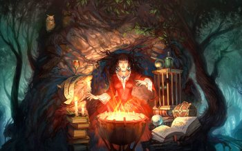 Fantasy - Witch Wallpapers and Backgrounds ID : 144308