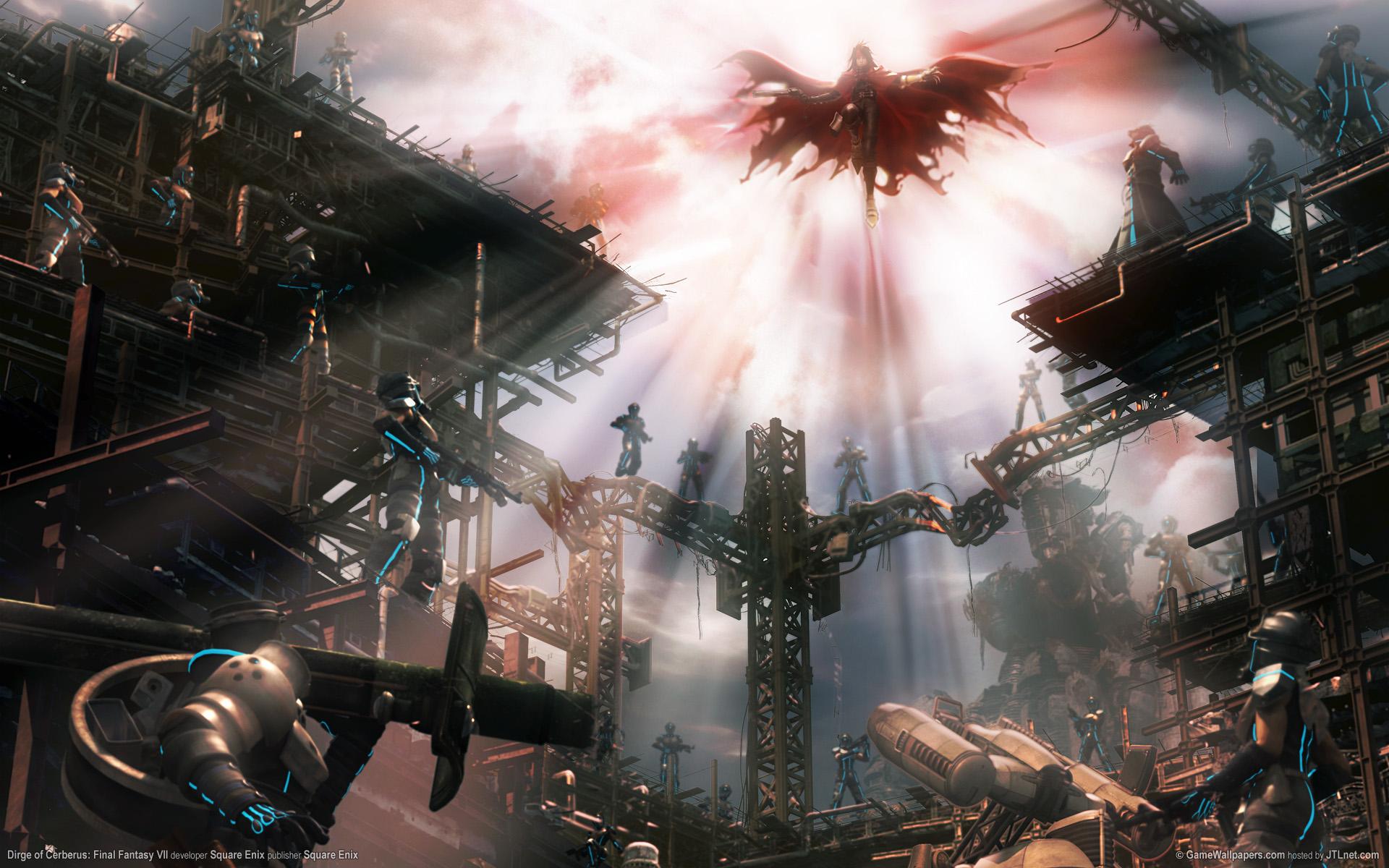 Dirge Of Cerberus Final Fantasy VII HD Wallpaper