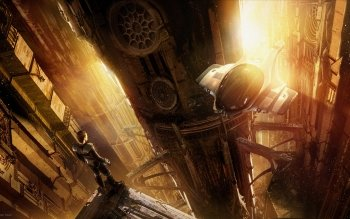 Science-Fiction - Großstadt Wallpapers and Backgrounds