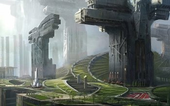 Science-Fiction - Großstadt Wallpapers and Backgrounds ID : 145498