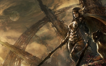 Fantasy - Women Warrior Wallpapers and Backgrounds ID : 146024