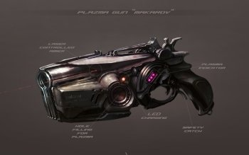 Sci Fi - Weapon Wallpapers and Backgrounds ID : 146636