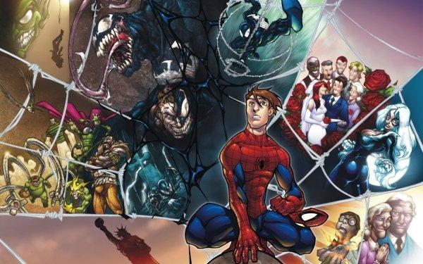 Bande-dessinées Spider-Man Fond d'écran HD | Arrière-Plan
