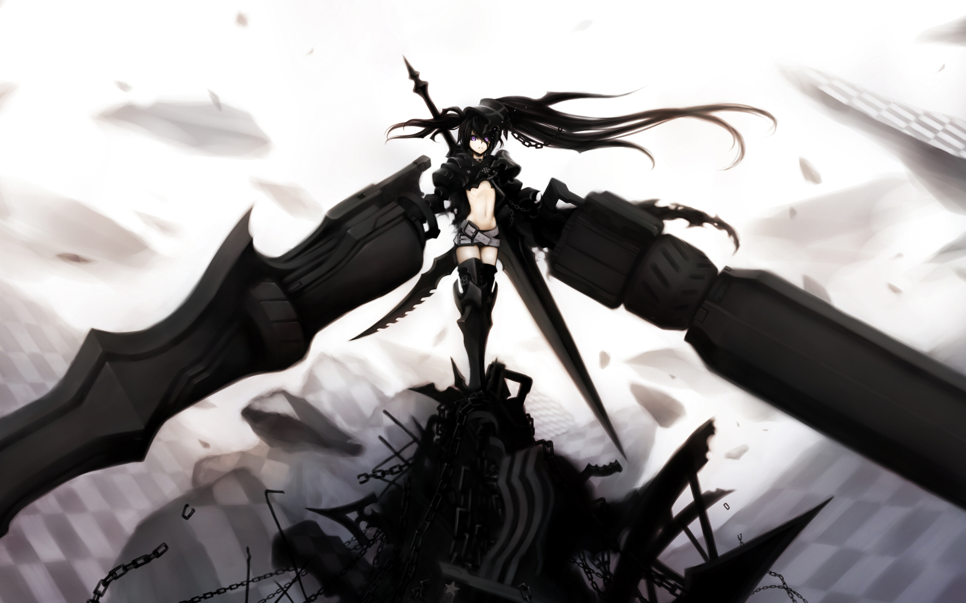 Anime - Black Rock Shooter  - Insane Black Rock Shooter Wallpaper