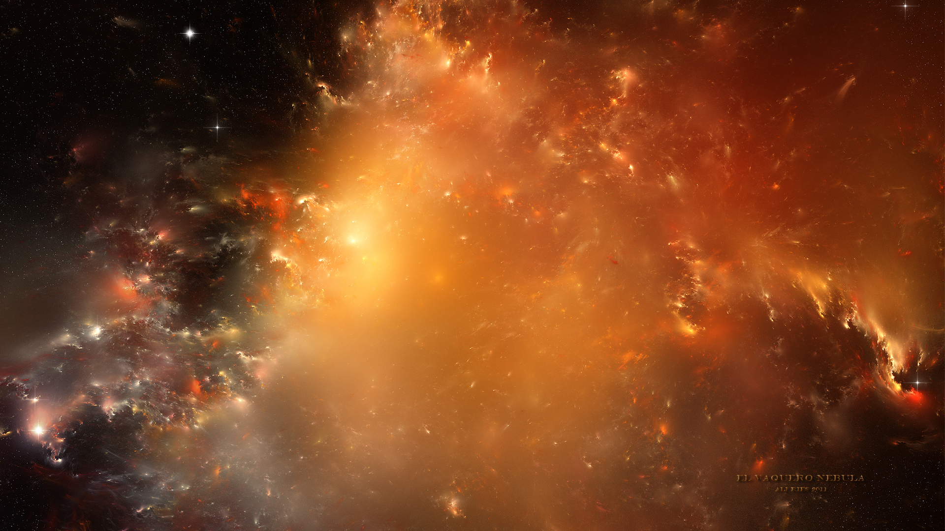 Science-Fiction - Nebula Hintergrundbild