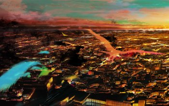 Anime - City Wallpapers and Backgrounds ID : 149408