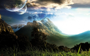Fantasy - Landschaft Wallpapers and Backgrounds ID : 149984