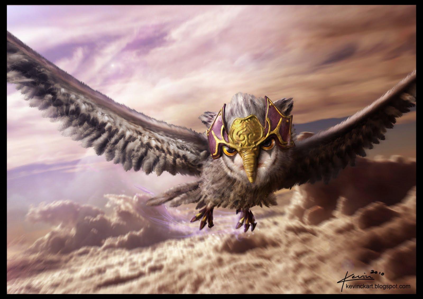 Movie - Legend Of The Guardians: The Owls Of Ga'Hoole  Bird Owl Wallpaper