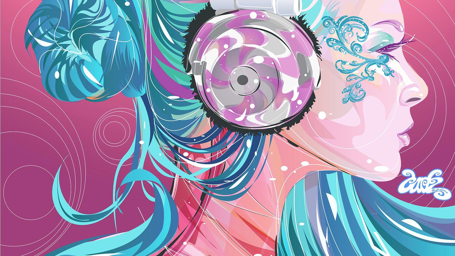 Pink Music Wallpaper: Music HD Wallpaper
