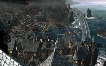 Fantasy - City Wallpapers and Backgrounds ID : 150266
