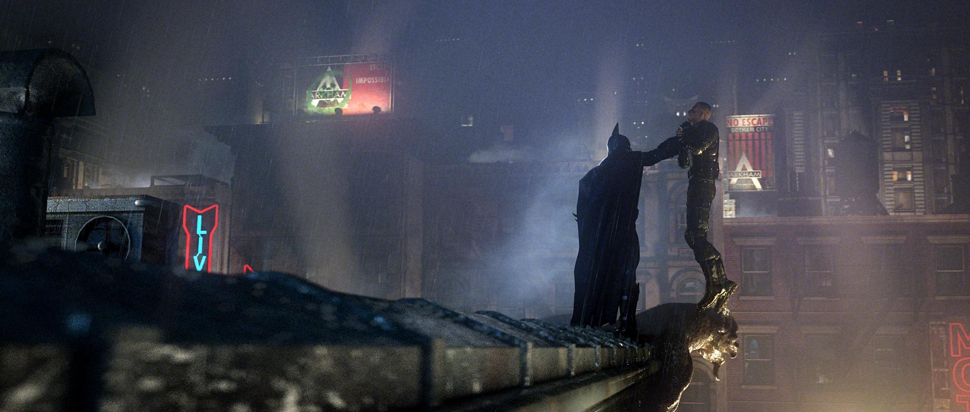 Batman Arkham City Fond Décran And Arrière Plan 1920x816 Id