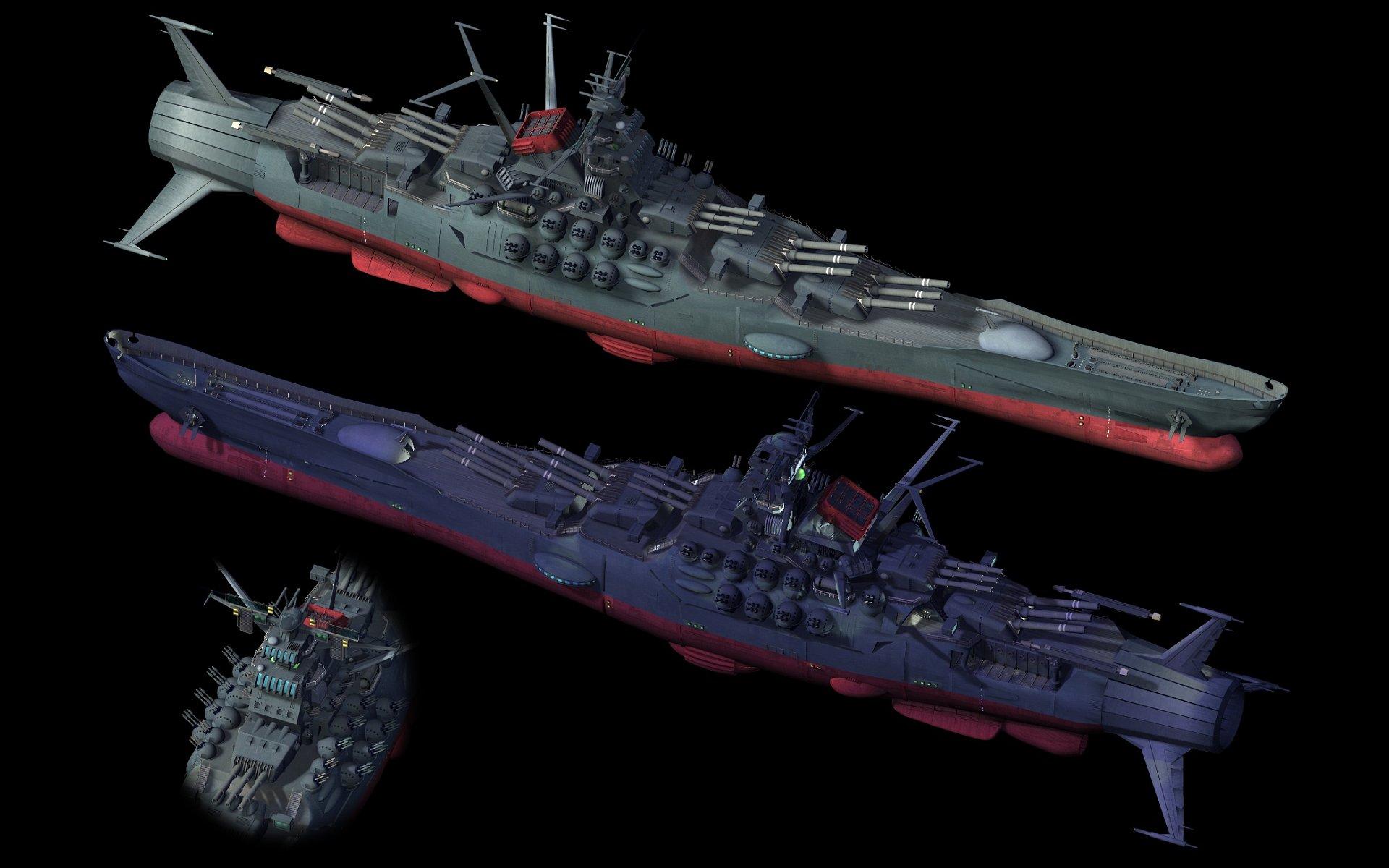 Space Battleship Yamato Concept Art