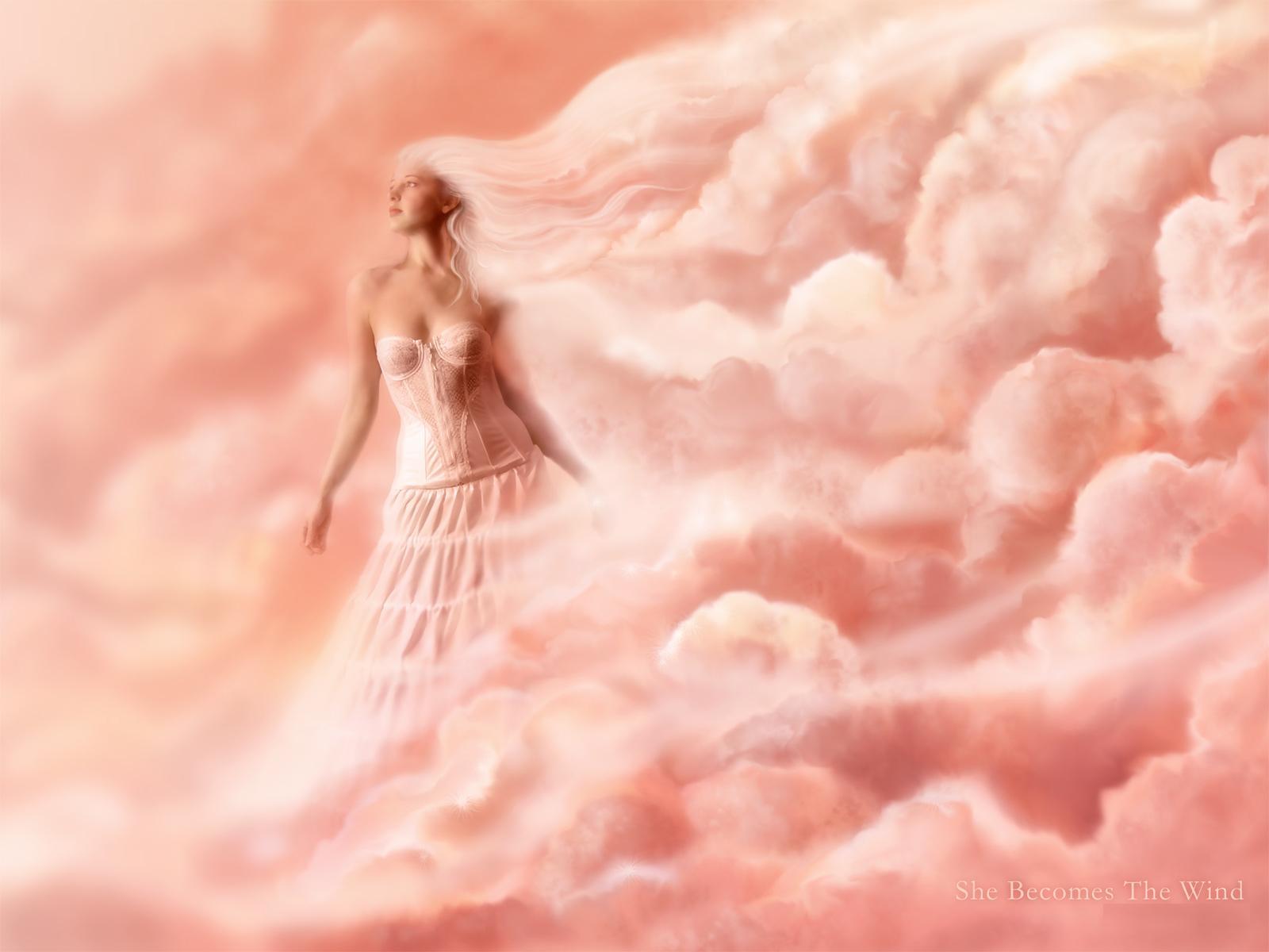 Фэнтези - Ангел  Goddess Woman Фэнтези Обои