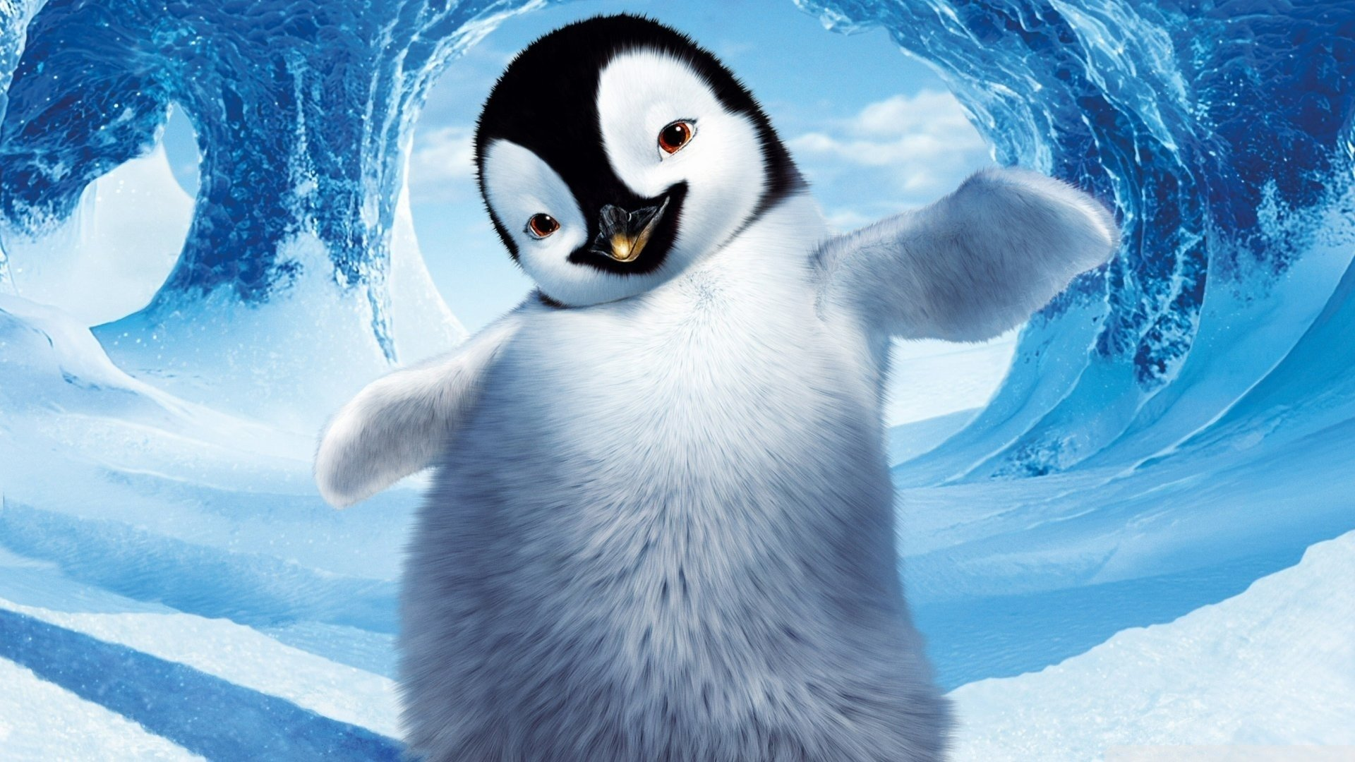11 happy feet hd wallpapers | background images - wallpaper abyss