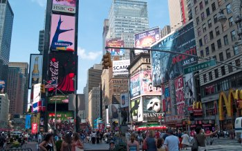 Man Made - Time Square Wallpapers and Backgrounds ID : 151146