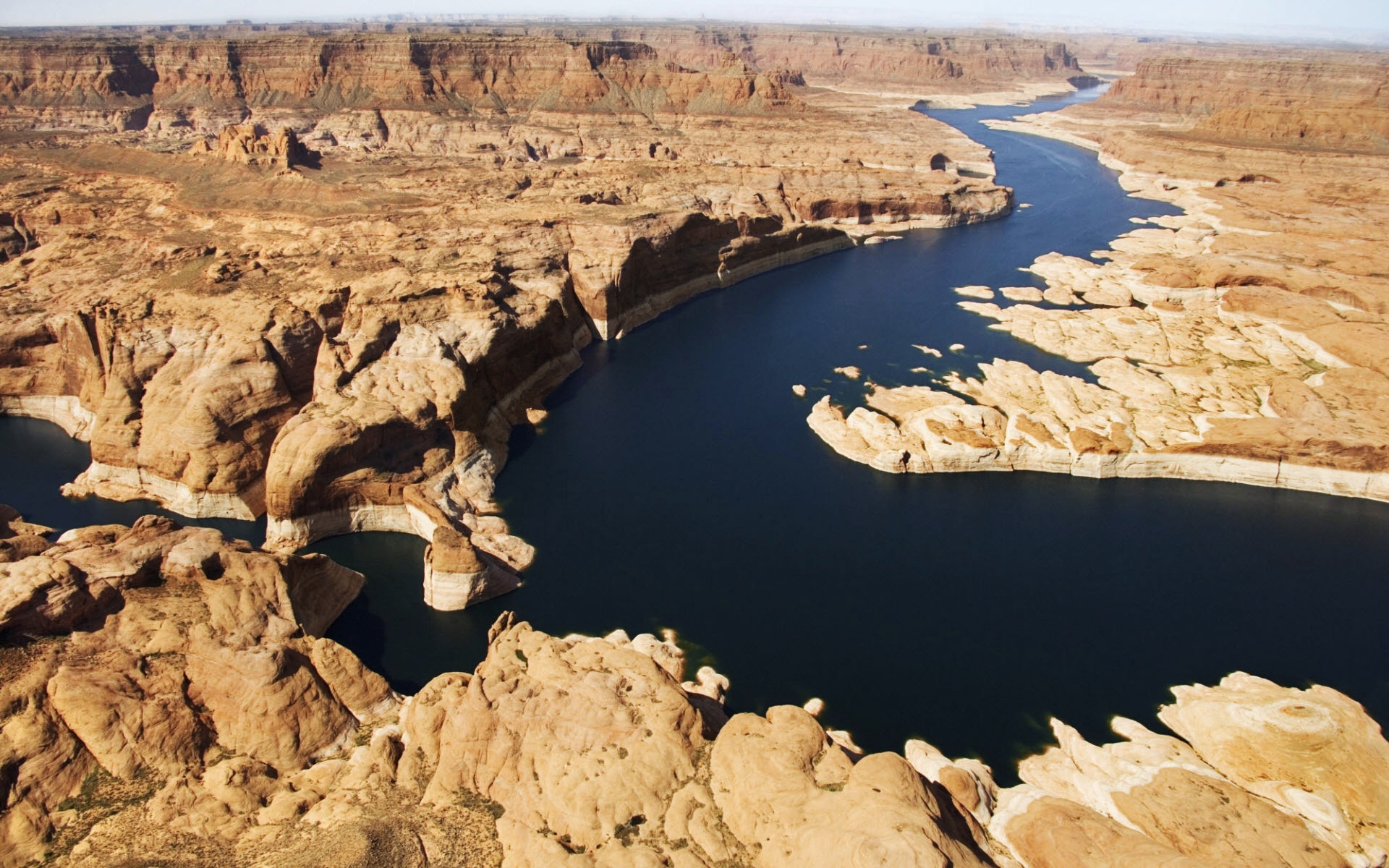Earth - River  Utah Lake Powell Glen Canyon Wallpaper