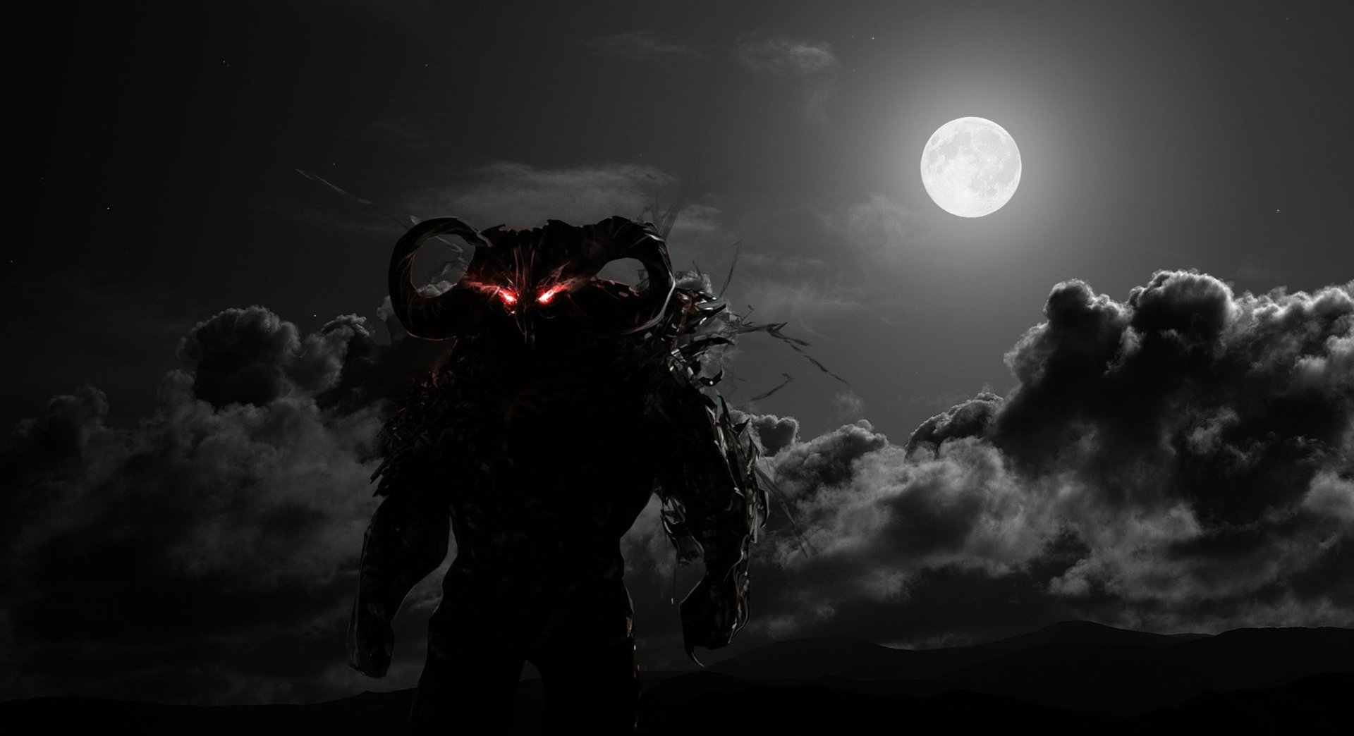 Dark - Demon  Dahaka Wallpaper