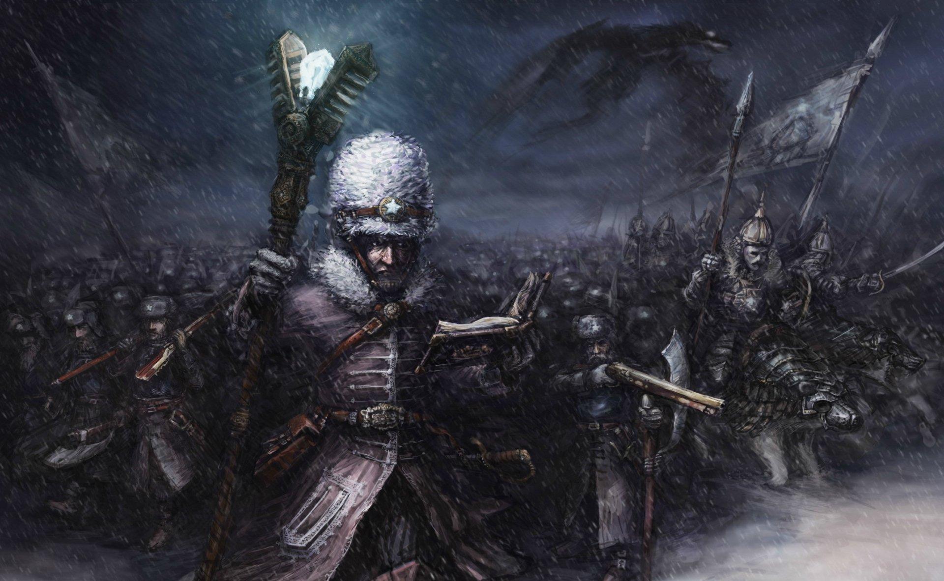 Fantasía - Batalla  Fondo de Pantalla