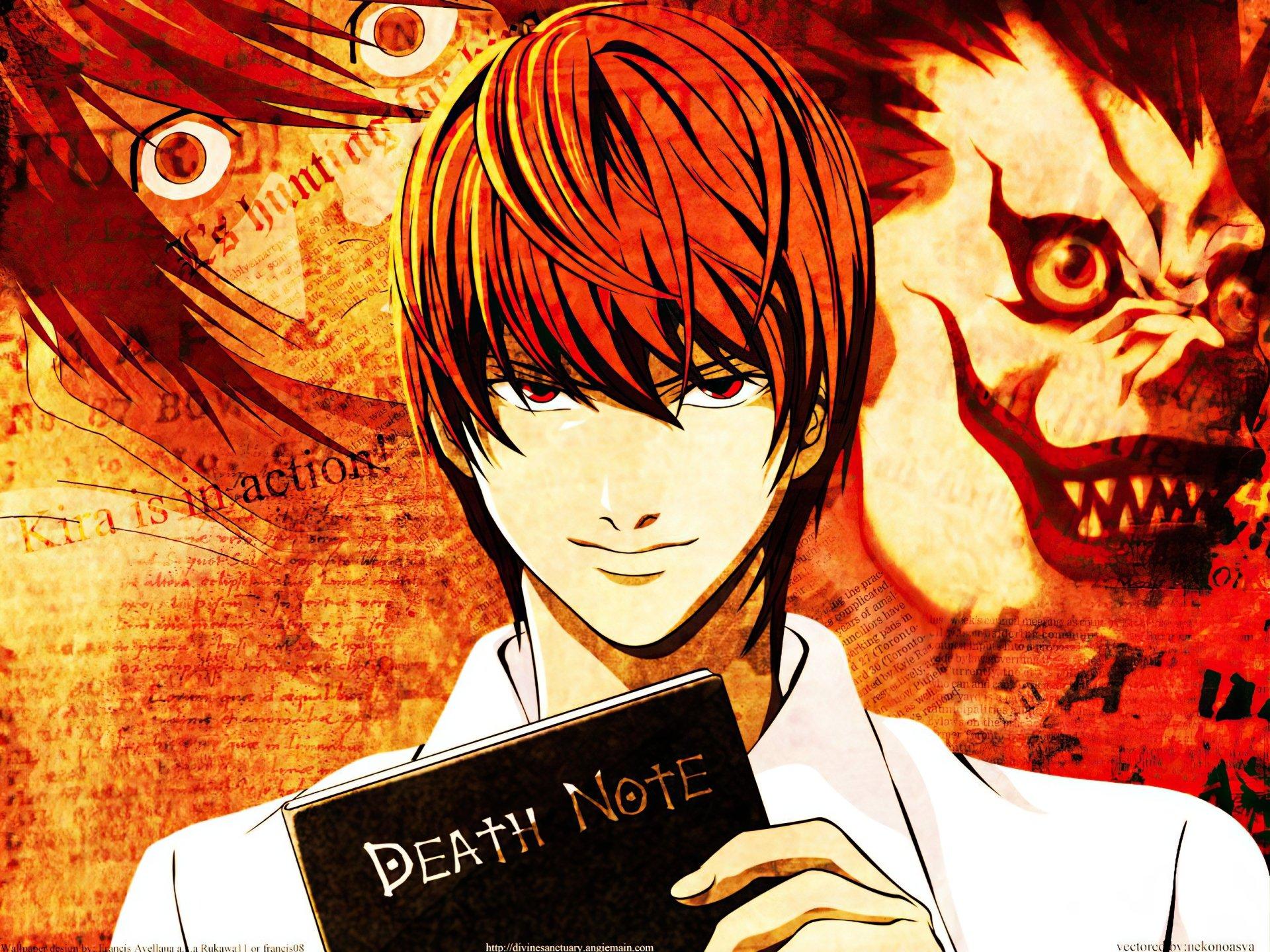 Death Note Fond d'écran and Arrière-Plan   1600x1200   ID:153276
